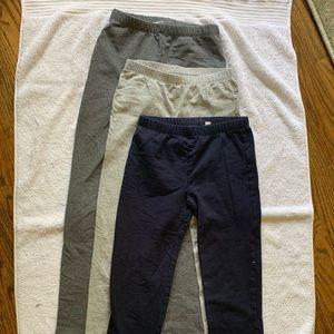 3 pair of school leggings
